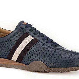 BALLY Man's Frenz Blue Sneaker Size 7