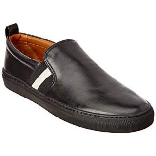 BALLY Herald Leather Sneaker, 8 Black