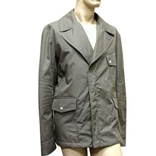 Gucci Men's Military Green Coat Jacket Blazer
