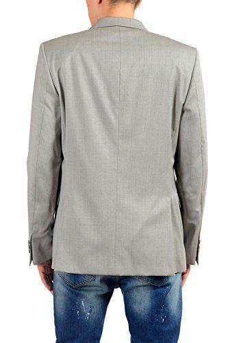 db253939b Versace Collection Men's 100% Wool Gray Blazer Sport Coat