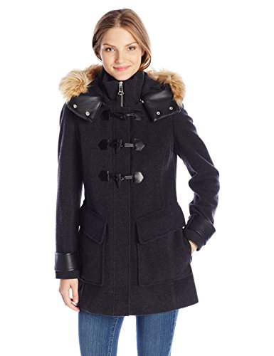 Marc New York by Andrew Marc Women's Paxton Toggle Wool Coat