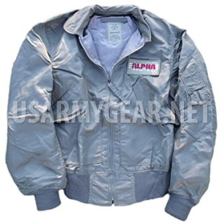 Made in USA New ALPHA US Air Force Lightweight Mil-Spec Jacket S
