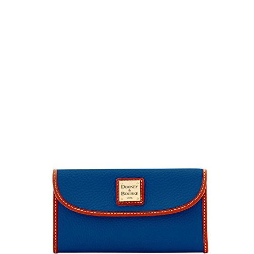 Dooney & Bourke Pebble Grain Continental Clutch Wallet