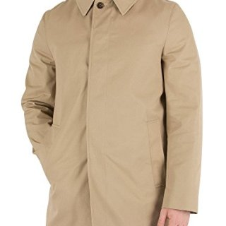 Aquascutum Berkeley Mens Raincoat M Camel