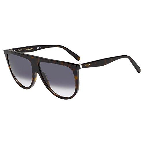 Celine Dark Havana Aviator Sunglasses Lens Category 3 Siz