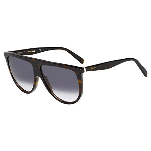 Celine Dark Havana Aviator Sunglasses Lens Category 3 Siz