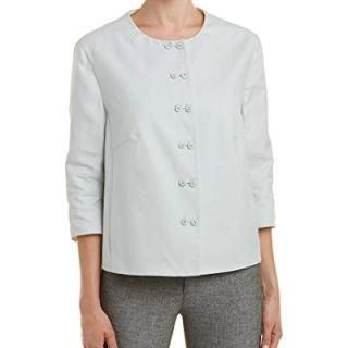 Akris Womens Jacket, 12, White