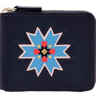 Women's Small Practical Zipper Closing Bifold Leather Wallet