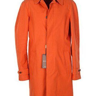 Gucci CL Orange Rain Coat Size 48/38R U.S. in Cotton