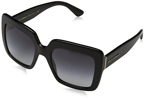 Dolce & Gabbana Unisex Black/Grey Gradient Sunglasses