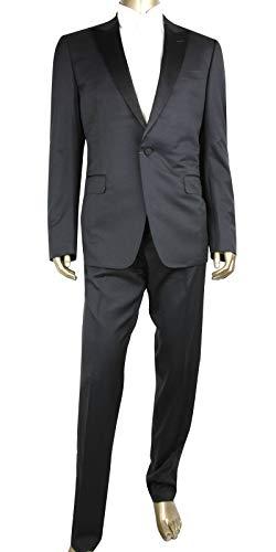 Gucci 1 Button 1 Vent Black Wool Signoria Tuxedo