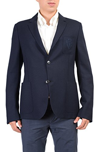 Gucci Wool Navy Two Buttons Men's Blazer