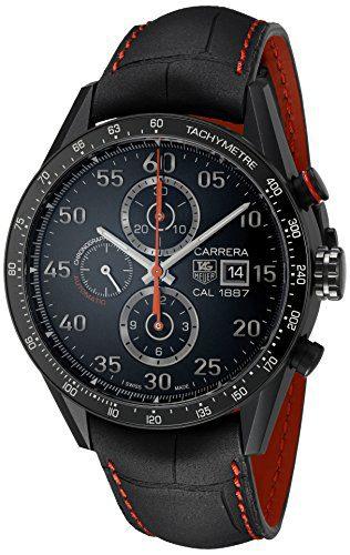 Tag Heuer Carrera Men's Automatic Chronograph Titanium Watch