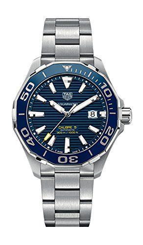 Tag Heuer Men's Aquaracer Calibre 5 Automatic 300m Ceramic Bezel Watch