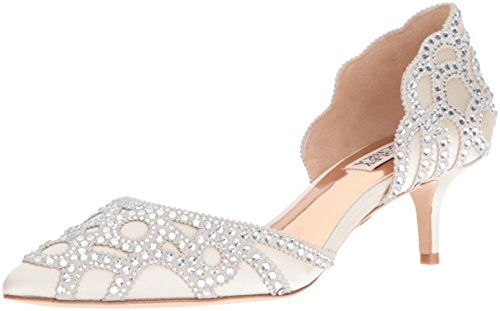 Badgley Mischka Women's Ginny Dress Pump, Ivory