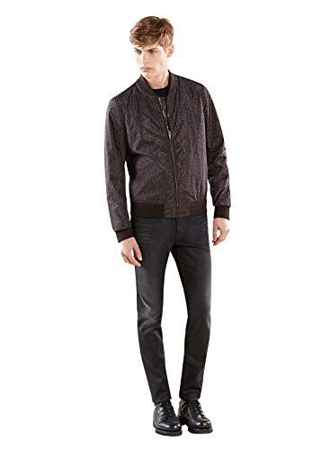 Gucci Bomber Brown Polyamide Leopard Print Jacket