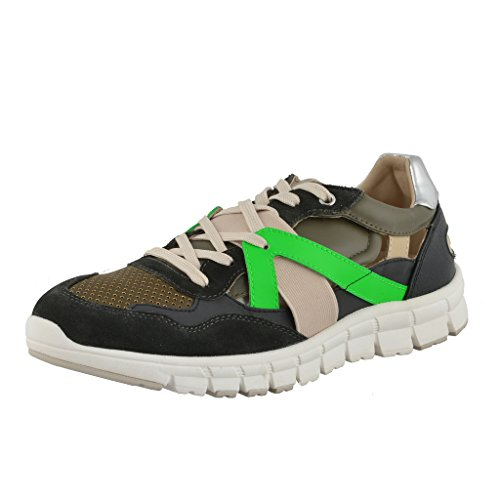 Dolce & Gabbana Men's Leather Suede Fashion Sneakers Shoes