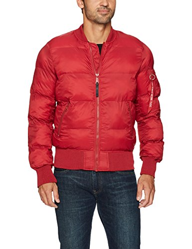 Alpha Industries Men's Ma-1 Echo Bomber Flight Jacket