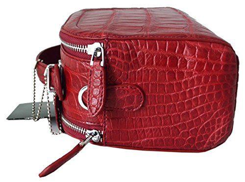 191c26c75d52 Authentic M Crocodile Skin Womens Belly W/Strap Clutch Bag