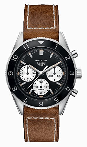 Tag Heuer Heritage Black Dial Mens Chronograph Watch