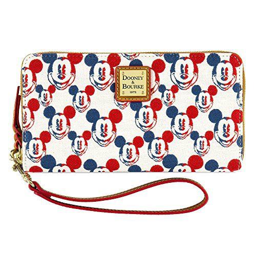 Disney Mickey Mouse Americana Wallet by Dooney & Bourke