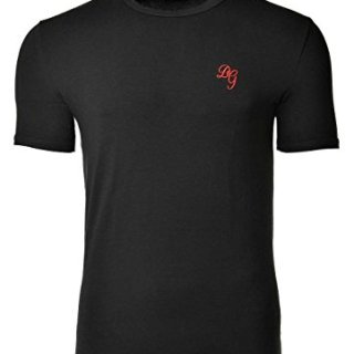 Dolce & Gabbana Men's Stretch Cotton T-Shirt Black 5