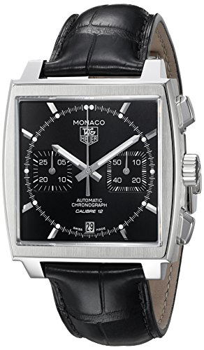 TAG Heuer Men's Monaco Calibre 12 Automatic Chronograph Watch