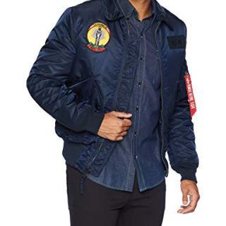 Alpha Industries Men's Storm Cruise MID Length Flight Jacket