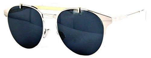 Dior Homme Motion Palladium Motion1 Round Sunglasses Lens