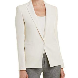 Akris Womens Wool Blazer, 12, White