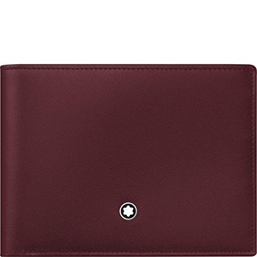 Montblanc Credit Card Case, Burgundy red (red)
