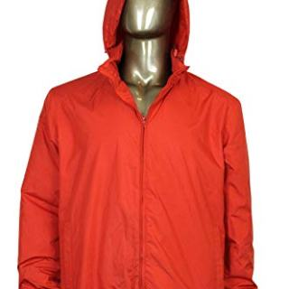 Gucci Techno Red Polyester Windbreaker Jacket