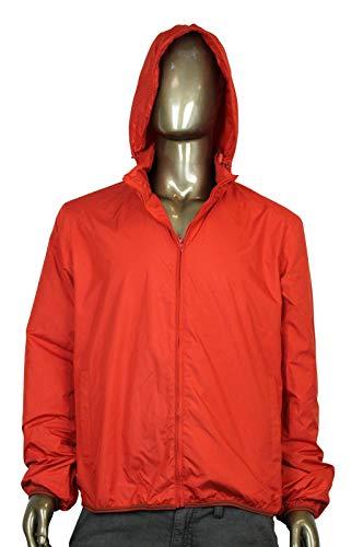 Gucci Techno Red Polyester Windbreaker Jacket