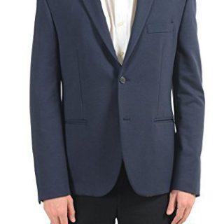 Versace Collection Men's Blue Two Button Blazer Sport Coat