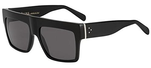 Celine Black Top Square Sunglasses Polarised Lens Category 3 Size