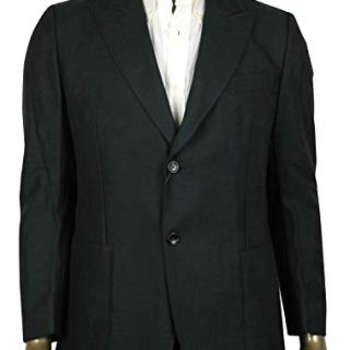 Gucci Men's Panama Dark Green Wool/Mohair Formal Jacket