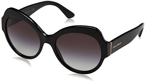 Dolce & Gabbana Women's Black/Smoke Gradient One Size