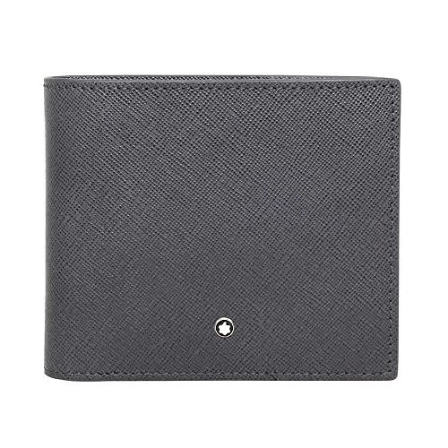 Montblanc Sartorial Leather Wallet - Dark Grey