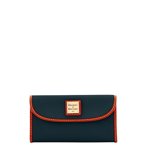 DooneyDillen Leather Continental Clutch Wallet