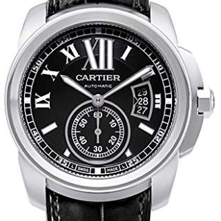 Cartier Men's W7100014 Calibre de Cartier Steel Automatic Watch