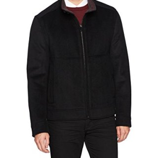 Marc New York by Andrew Marc Men's Lenzen Premier Double Faced Wool Bomber