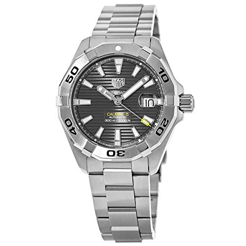 Tag Heuer Aquaracer Calibre 5 Black Dial Stainless Steel Men's Watch