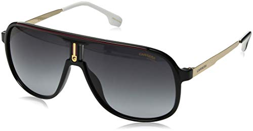 Carrera Men's 1007/s Aviator Sunglasses, Black, 62 mm