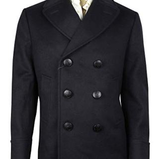Gucci Classic Indigo/Chocolate Wool Beaver Coat