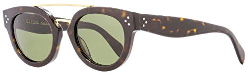 Celine Sunglass Dark Havana (1E Green Lens)-49mm