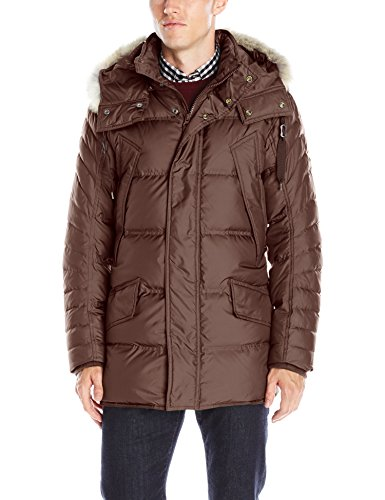 Marc New York by Andrew Marc Men's Stowaway Ultra Down Parka
