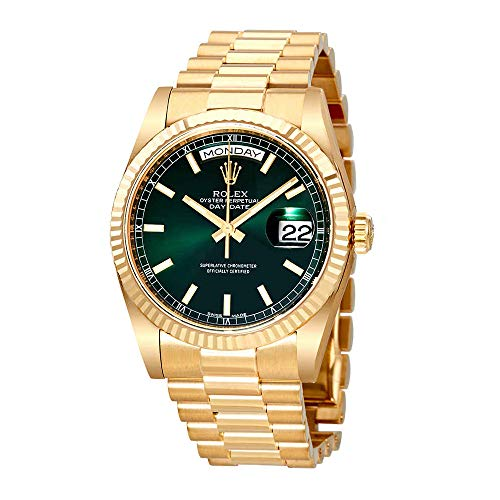Rolex Day Date Champagne Dial Automatic 18K Yellow Gold Automatic Watch