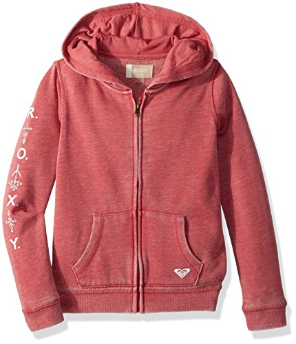 Roxy Girls' Little Wish Zip-Up Hooded Sweatshirt