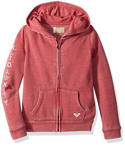 Roxy Girls' Little Wish Zip-Up Hooded Sweatshirt