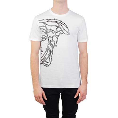 Versace Collection Men's Cotton 'Tape' Medusa Graphic